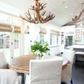 Бамбуковые шторы на дверной проем: 120+ гармоничных идей экостиля в интерьере фото