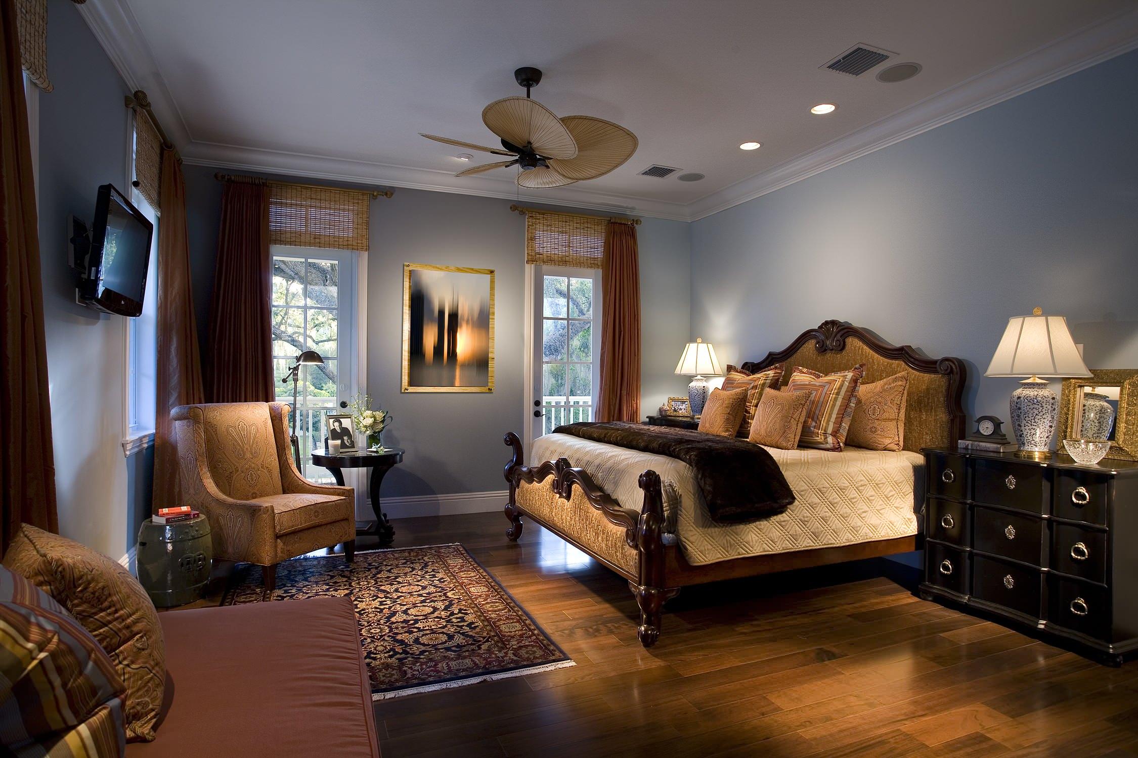 Бамбуковые шторы помогут сделать интерьер более уютным