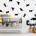 70+ декоративных наклеек для интерьера на стены (фото, видео) фото