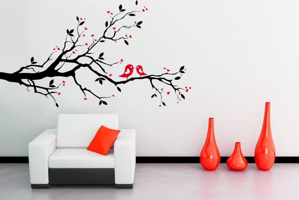 70 декоративных наклеек на стены Дизайн