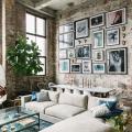 Акцент на стены (80+ идей): обзор стильных и современных картин в стиле лофт для интерьера фото