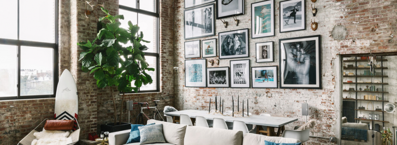 Акцент на стены (80+ идей): обзор стильных и современных картин в стиле лофт для интерьера