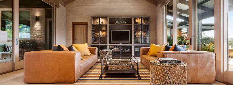Цвет охра в интерьере (95+ идей): создаем утонченный дизайн квартиры в янтарно-медовой гамме