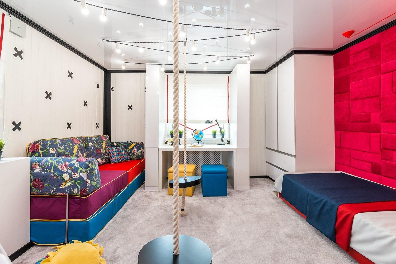 Эргономичная организация пространства– главная задача при создании интерьера небольшой детской комнаты