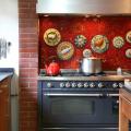 Панно из плитки на кухню: 110+ ярких фото идей для декора фартука и кухонной отделки фото