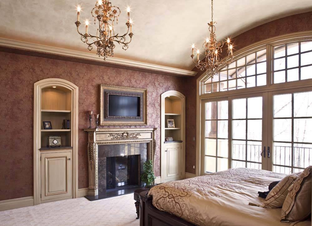 Классика в спальне говорит о бессмертии и непревзойдённости классических интерьеров