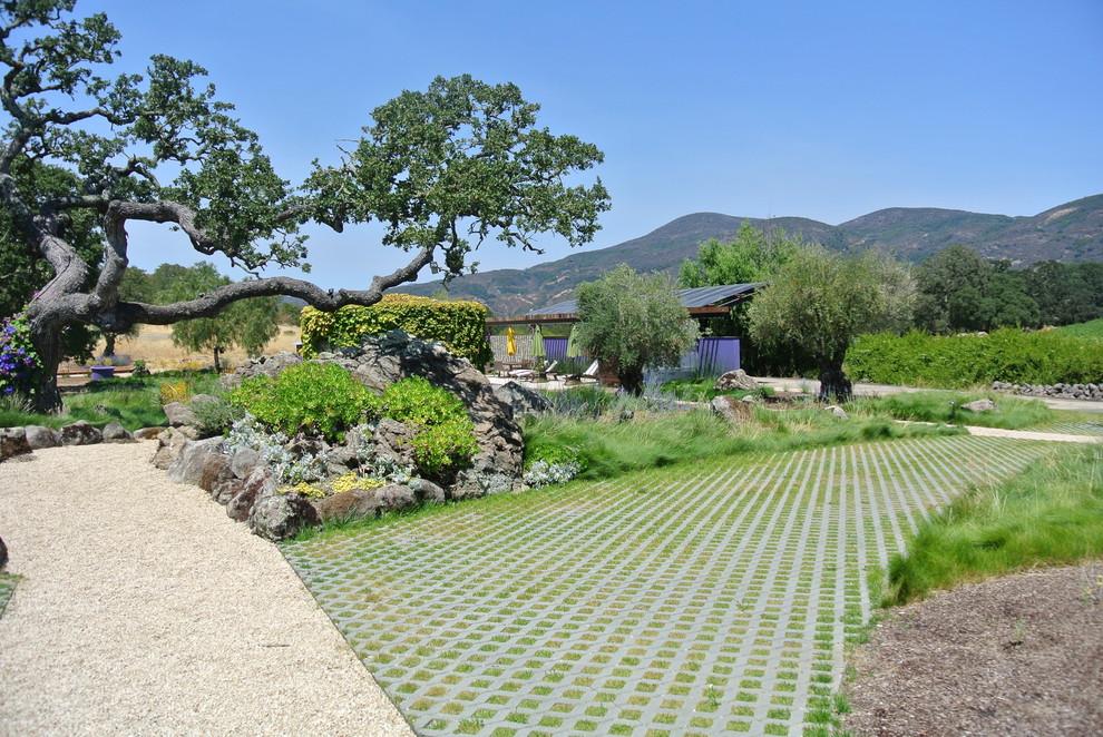 Прекрасный ландшафтный дизайн загородного имения