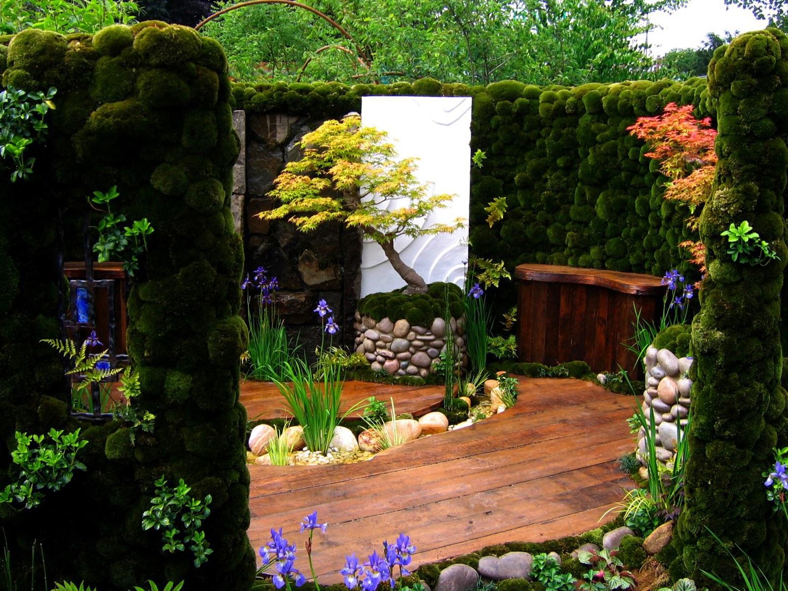 Необходимые растения и атрибуты оформления сада в японском стиле