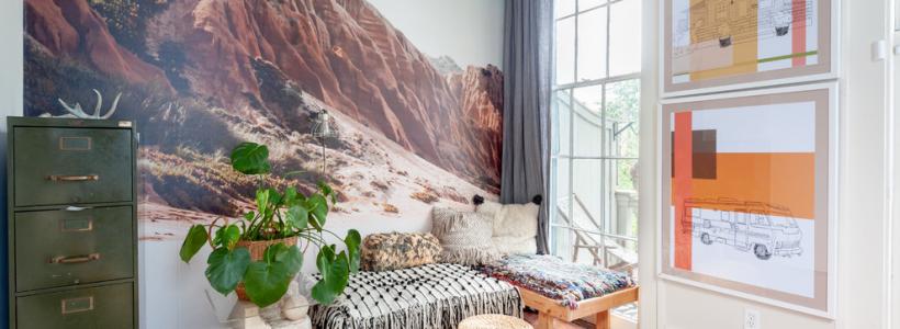 Фотообои, расширяющие пространство (85 фото): как визуально увеличить комнату