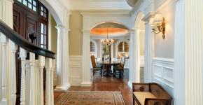 85 идей пилястр в интерьере: роскошный декор в вашем доме фото