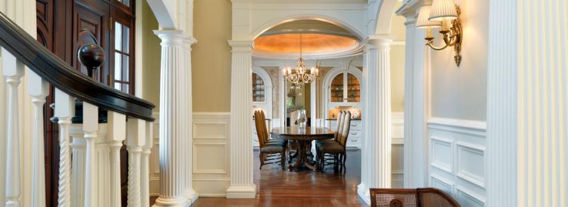 85 идей пилястр в интерьере: роскошный декор в вашем доме