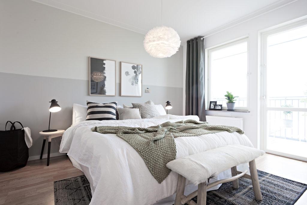 Дизайн уютной спальни в скандинавском стиле