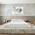 Обои под бетон (100 фото): очарование лофта в интерьере современной квартиры фото
