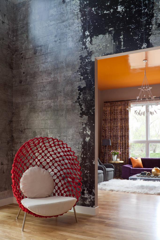 100 Лучших Идей для Интерьера Обои под бетон #Фотообзор