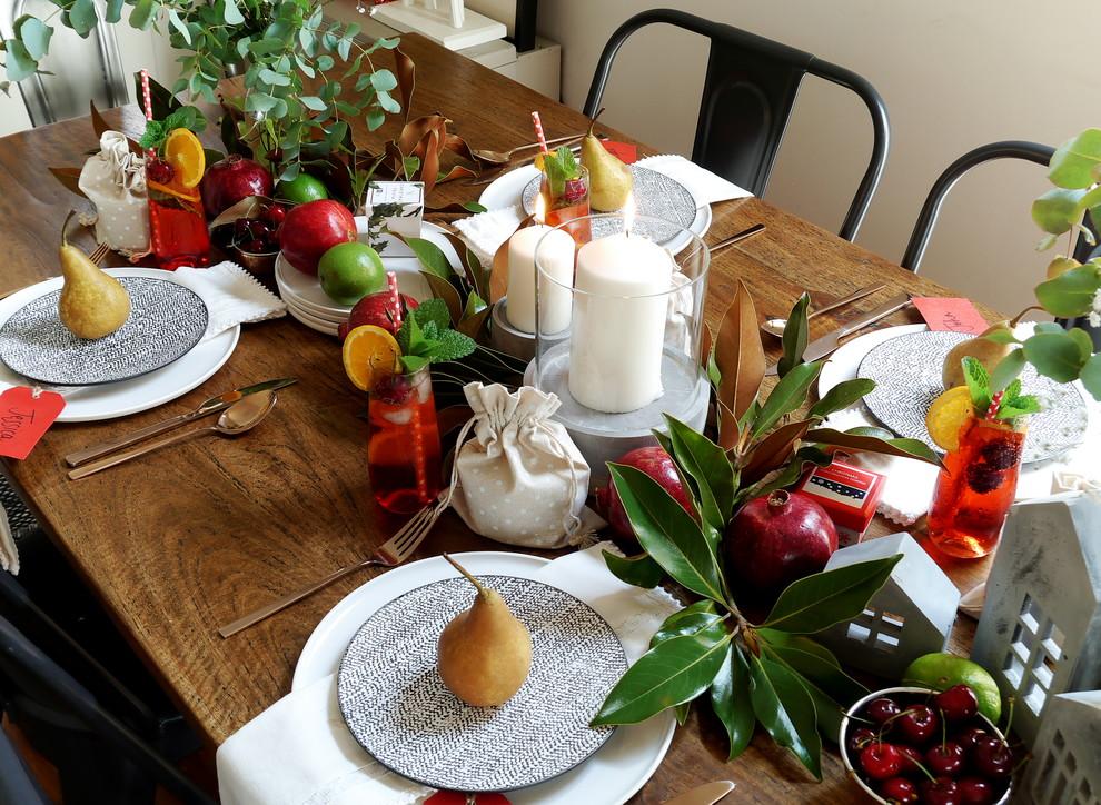 Свежие фрукты послужат отличным декором для детского праздника