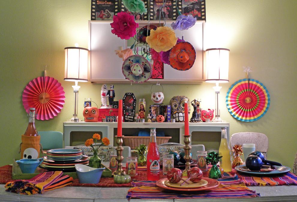 Сервировка детского праздничного стола в мексиканском стиле