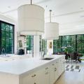 Дизайн кухни белого цвета: 65+ фото свежих и лаконичных дизайнерских проектов фото