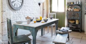 Кухни в стиле кантри и прованс: 115+ элегантных и теплых решений для ценителей уюта фото