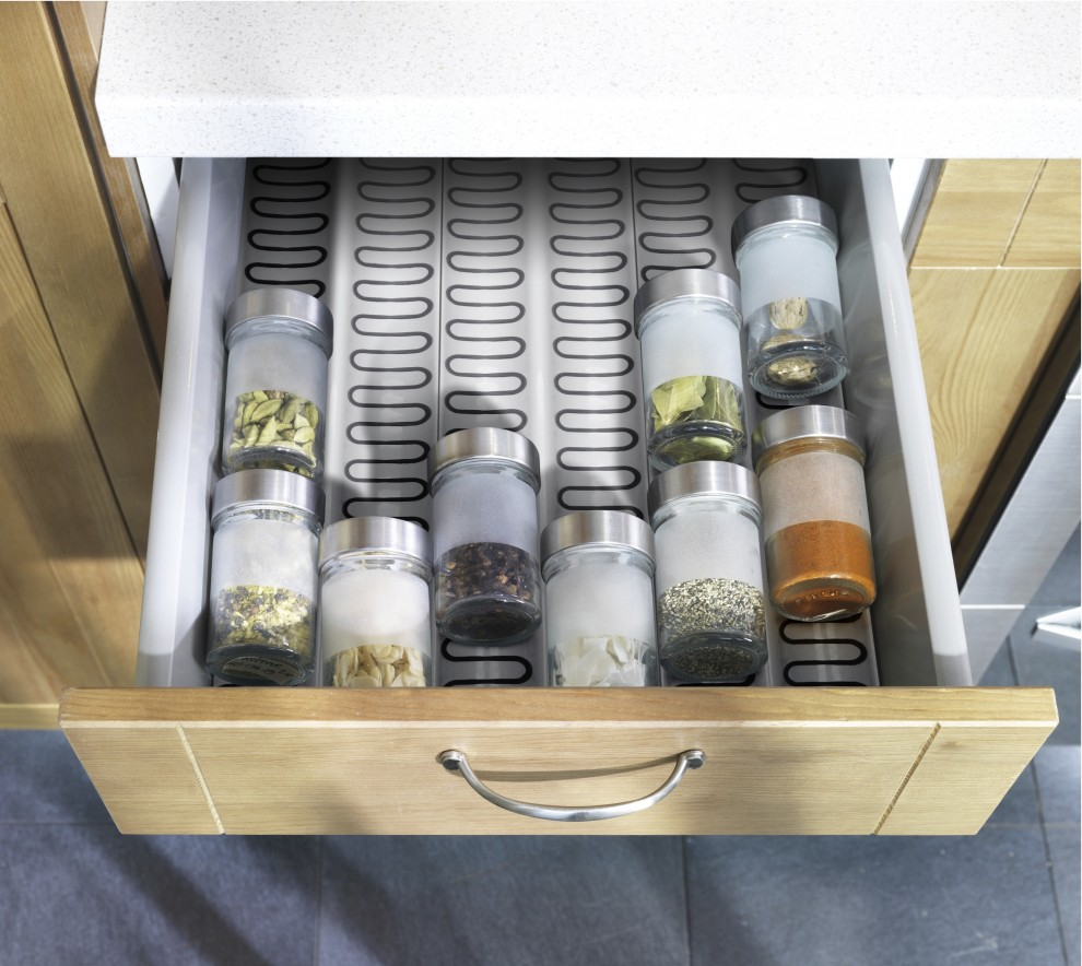 Дизайн выдвижного ящика со специями от IKEA