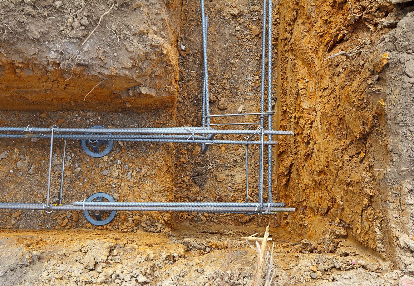 Решетка для железобетонной конструкции