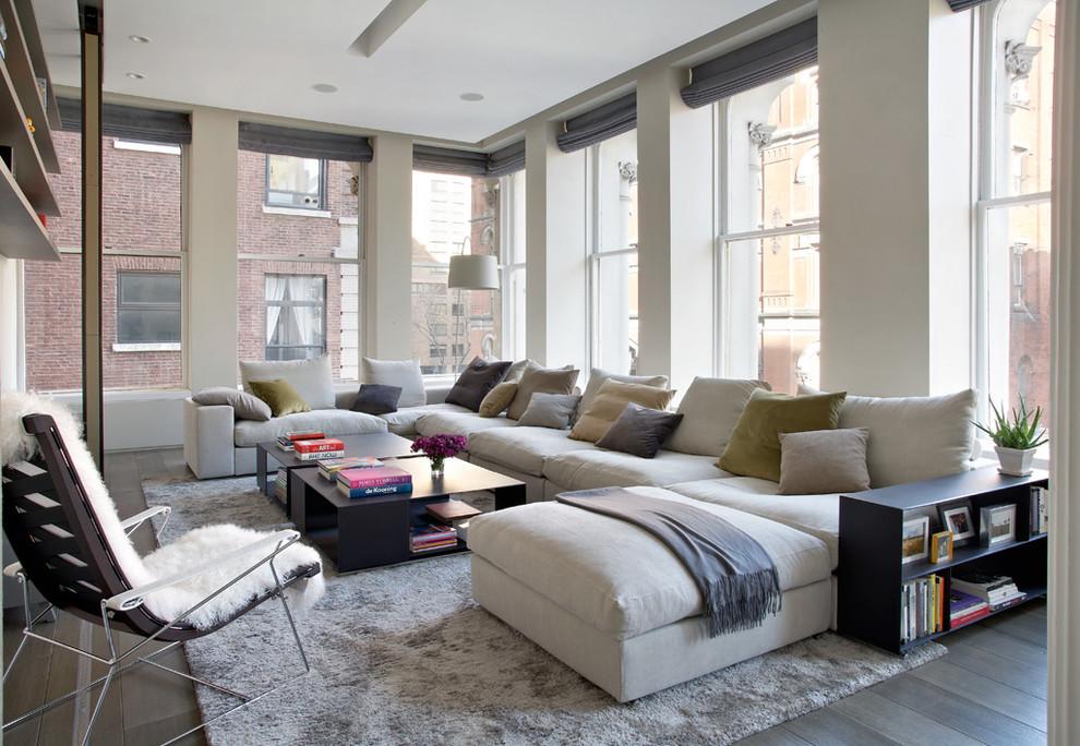 Модульные диваны можно переформировывать