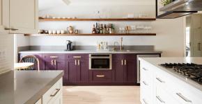 Фиолетовая кухня (90 фото): выбор дизайнеров — фиолетовые тона для кухни и лучшие сочетания цветов фото