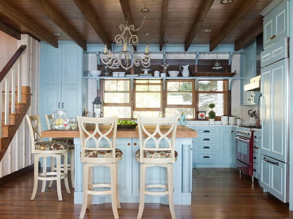 Кухня в стилистике кантри