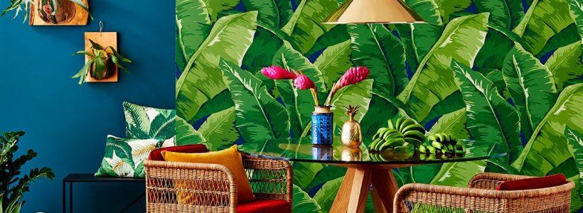 Дух экзотики: тропический дизайн в интерьере